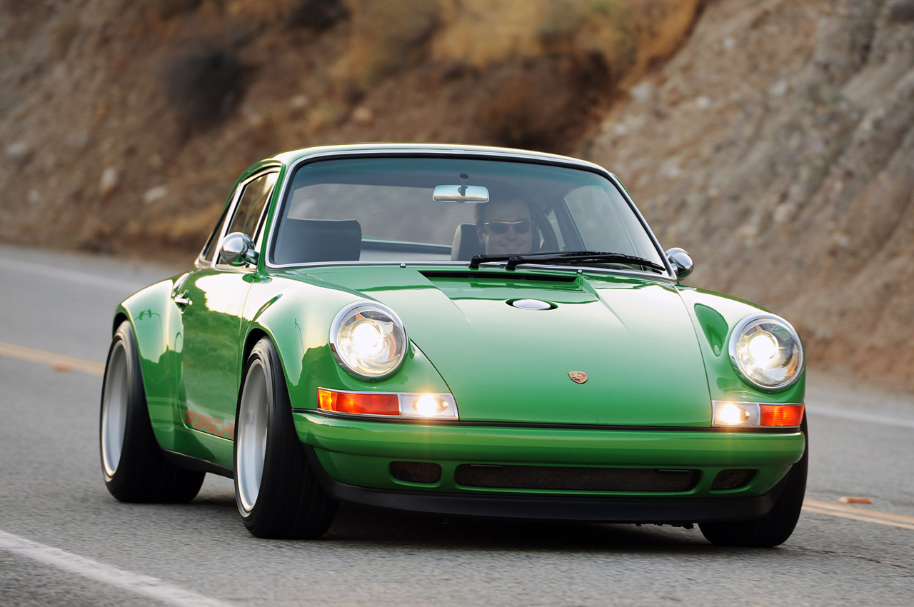 Future Car Trends: Singer Porsche 911 Is Not Just Retro