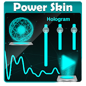 Hologram Poweramp Skin