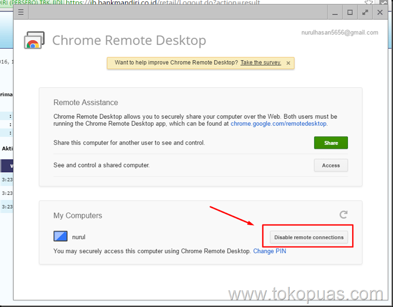 trik remote desktop connection