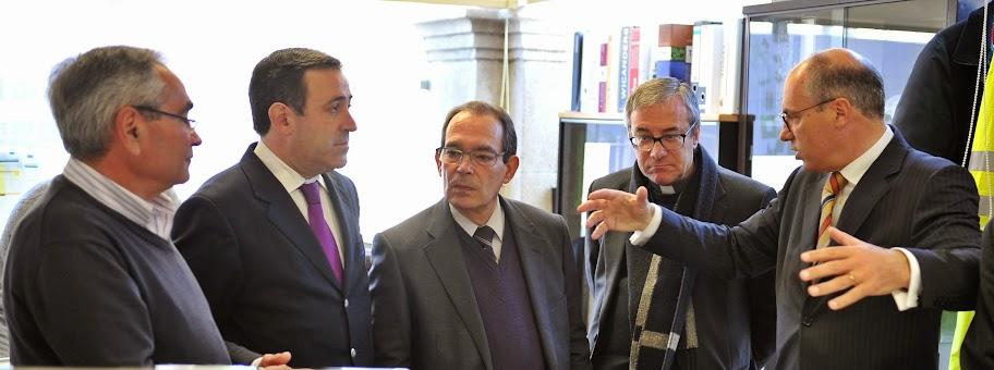 Câmara de Lamego recebe D. António Couto em Visita Pastoral