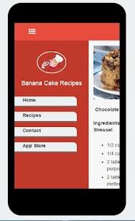 Simple Banana Cake Recipes - náhled