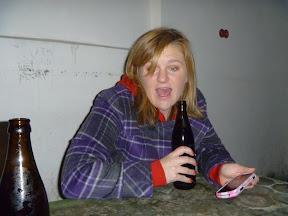 yup, Pub Crawl. Aaaaaand she's on her phone. Soooooo never go boozing with a woman in plaid...