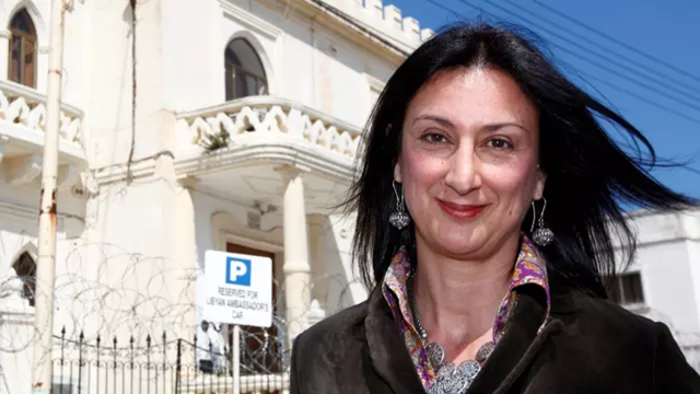 Daphne Caruana Galizia, a Maltese investigative journalist who exposed her island nation's links with the so-called Panama Papers, was assassinated when a bomb destroyed her car on 16 October 2017. Photo: Reuters
