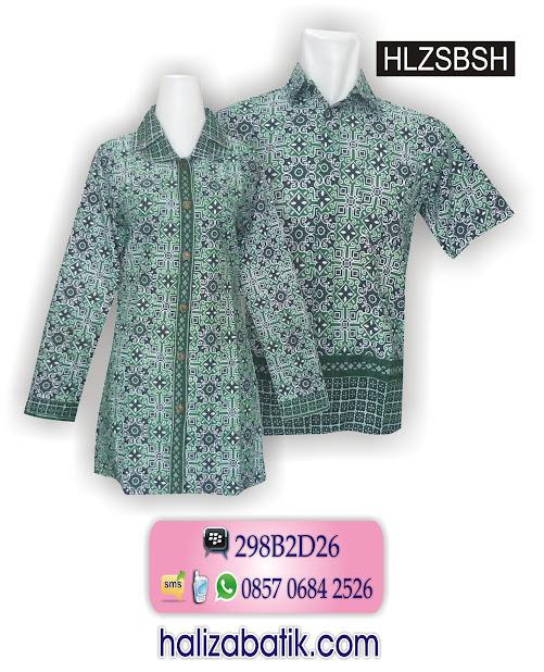 Atasan Batik, Batik Sarimbit Modern, Baju Couple Batik, HLZSBSH