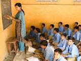 A class in the secondary school, Amarpurkashi