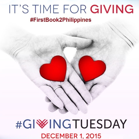 TEACHER SOL: #FirstBook2Philippines Participates in #GivingTuesday