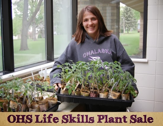 Onalaska High School Student gardener