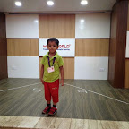 Poetry Recitation at Witty World - Jr.Kg (2014-15)