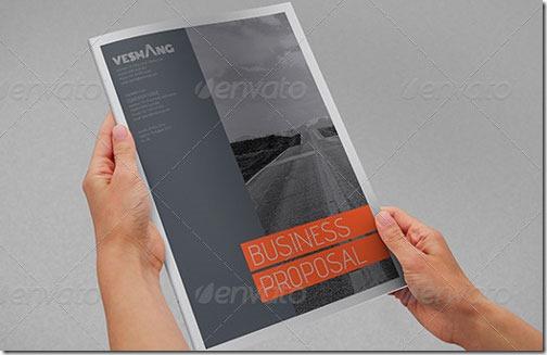 Catálogo de empresa de diseño atractivo y moderno (para Word e InDesign)