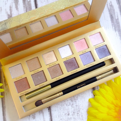 Cargo Cosmetics Summer In The City Eyeshadow Palette