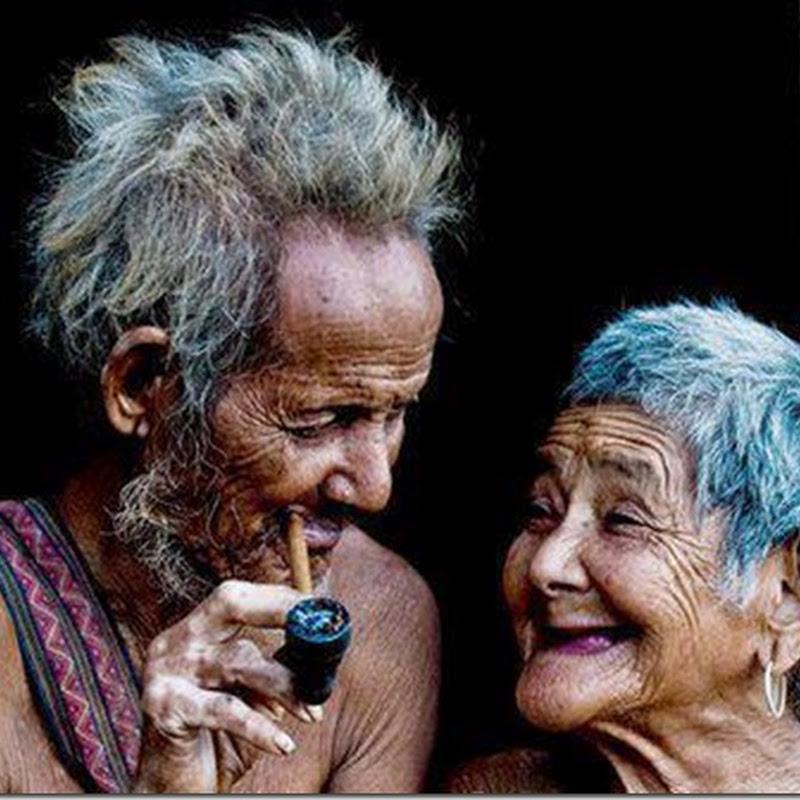 Fotos de ancianos enamorados
