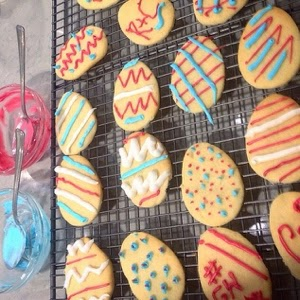 Easter themed biscuit recipe