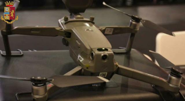 Roma: dronista denunciato per attentato alla sicurezza dei trasporti