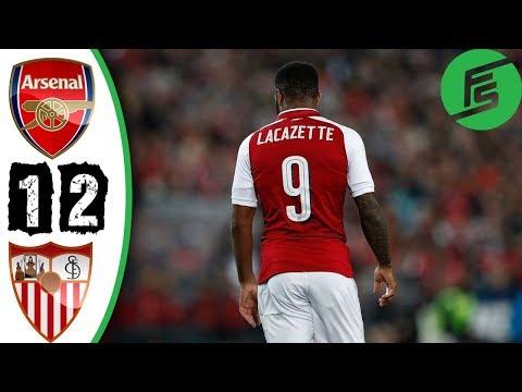 [Video] Arsenal vs Sevilla 1-2 – Highlights & Goals – 30 July 2017