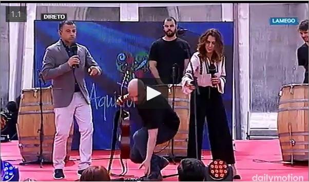 Vídeo - Feira Agrícola de Lamego - Aqui Portugal - RTP1 - 28 de maio de 2016