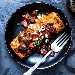 Tex-Mex-Style Beef Enchiladas