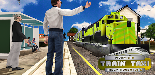 Mountain Train Taxi Hilly Adventure APK