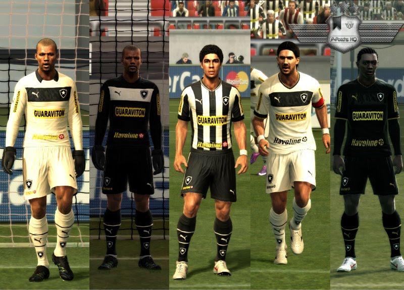 Botafogo 2012-13 Kitset - PES 2012