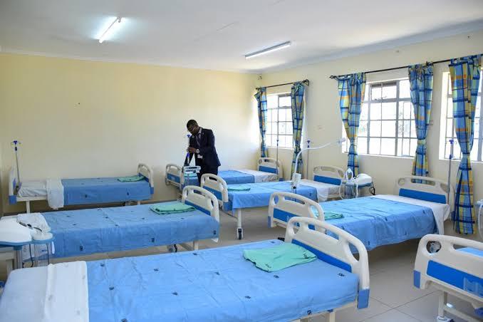 Kenyatta National Hospital COVID-19 patients beds