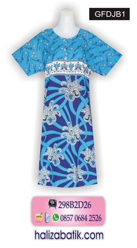 Model Batik Terbaru, Batik Modern Wanita, Gambar Baju Batik, GFDJB1
