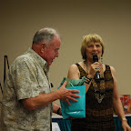 Jean Gleaves  expresses appreciation to Bill Gleaves