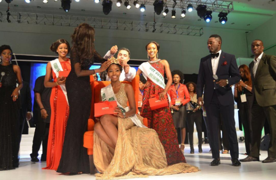 Chioma Obiadi Stephanie From Anambra Crowned Miss Nigeria 2016