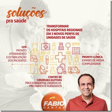 Fabio apresenta soluções para Saúde