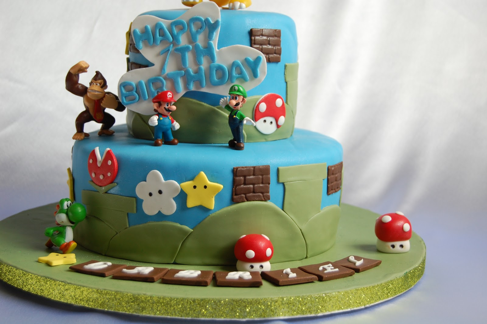 CUSTOMISED CAKES BY JEN Bowser Cake - Bowser birthday cake