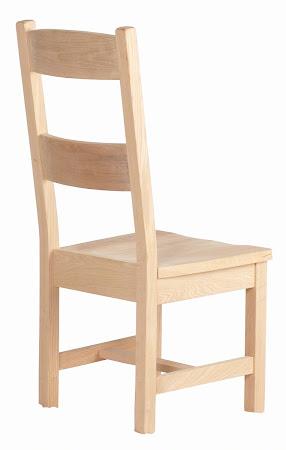 Geneva Chair in Natural Oak