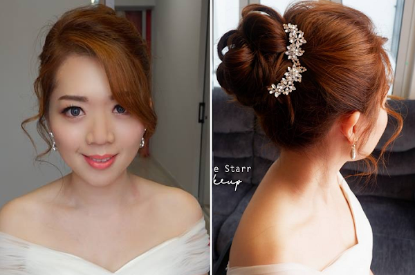 adds character to the bridal look