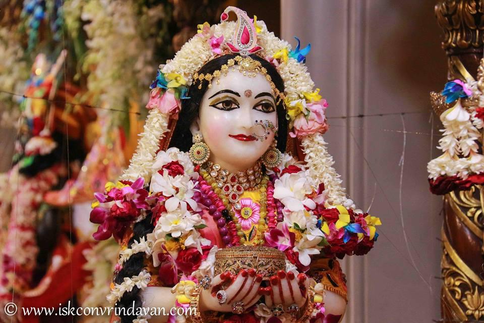 ISKCON Vrindavan Shringar Deity Darshan 11 May  2016 (12)