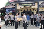 Wakapolda Banten Motivasi Personel yang Bertugas di Polsek Perbatasan