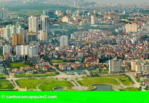 Hình 1: Giá đất đô thị tại Hà Nội và TP Hồ Chí Minh cao nhất cả nước