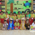 Rhyme Enactment of 5 Little Monkeys by Nursery Evening Section at Witty World, Chikoowadi (2017-18)