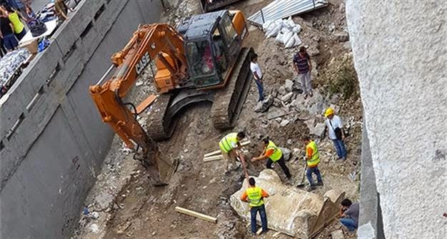 Near East: Construction work damages ancient tombs in Istanbul