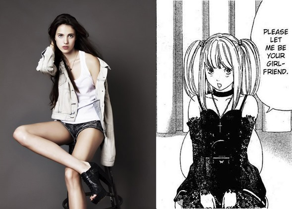 margaret_qualley_Death Note_Amane Misa