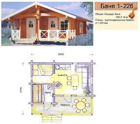 Проект бани 1 - 226