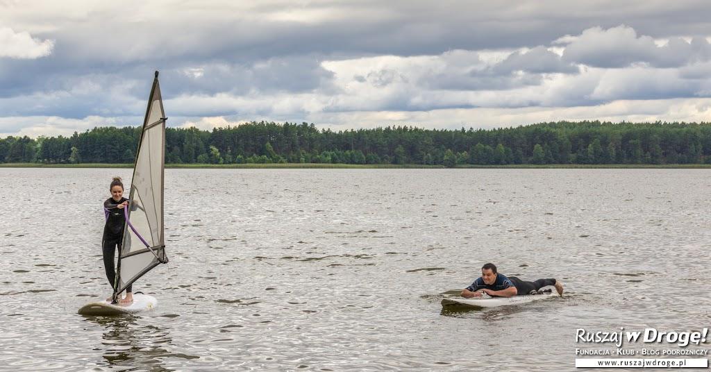 Nauka windsurfingu w Osieku