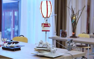 Min lampa i Superskaparna