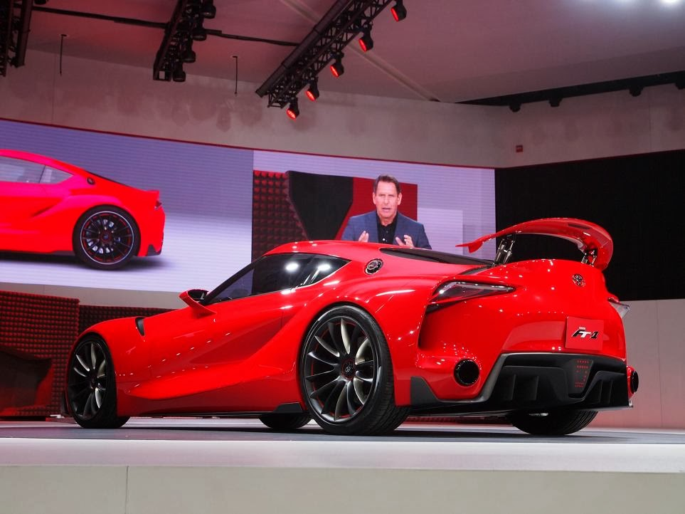 Toyota FT-1 Concept Unveiling 7