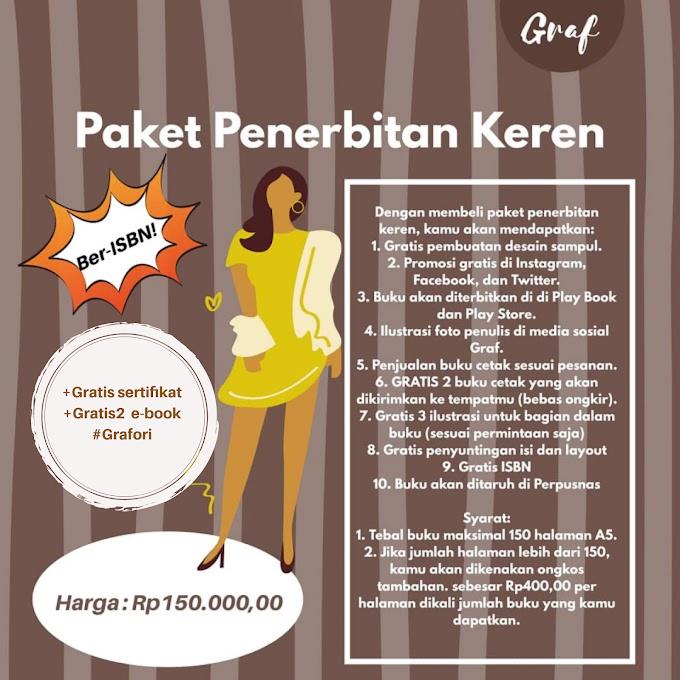 Paket Penerbitan Keren (Rp 150.000,00)