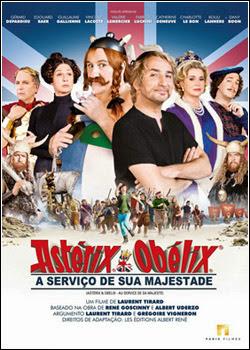 Filme Poster Asterix e Obelix – A Serviço de sua Majestade DVDRip XviD Dual Audio & RMVB Dublado