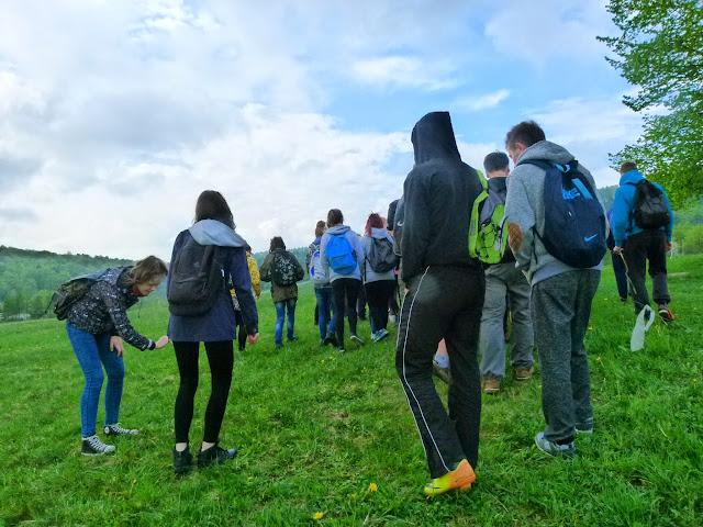 Zajęcia terenowe Źródliska Wisłoki - P1120615.JPG