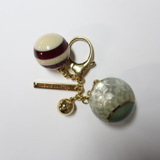 Louis Vuitton Mini Lin Croisette Bag Charm/Key Ring