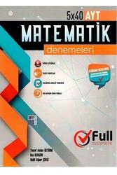Full Matematik Yayınları AYT Matematik 5×40 Denemeleri