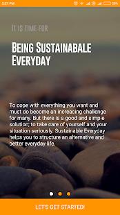 SustainYou - náhled