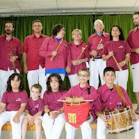 Audició Escola de Gralles i Tabals dels Castellers de Lleida a Alfés  22-06-14 - IMG_2412.JPG