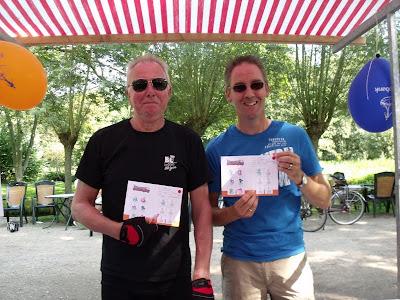 Fietstocht Cor en Rob voor BCVlist 2012