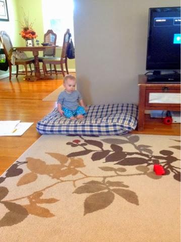 Knick Knacks and Nibbles: Super Simple DIY Floor Pillow for around ...