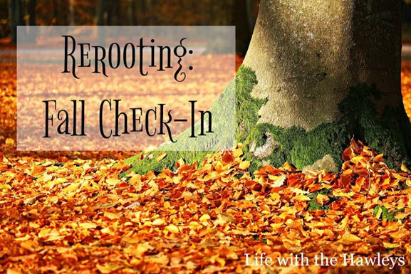 Rerooting- Fall Check In- Life with the Hawleys- Watermark